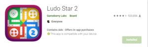 Ludo star play store